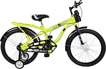 Mad Maxx Humber 20T Steel Single Speed Road Cycle, 20 Inches For 7 To 10 Years Kids (Neon Green)