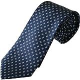 Cravatta blu di pura seta, Cravatte Uomo eleganti, Pietro Baldini, cravatta blu scuro