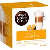 Nescafé Dolce Gusto Latte Macchiato - Café Gourmand - 48 Capsules (Lot de 3 boîtes x 16)