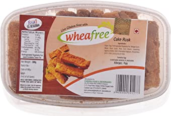 Wheafree Gluten Free Cake Rusk, 300 grams