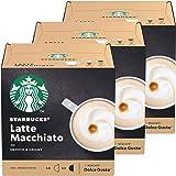 Starbucks Nescafé Dolce Gusto Latte Macchiato Lot de 3 boîtes de 12 Capsules de café au Lait