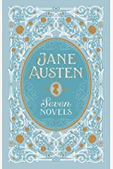 Jane Austen: Seven Novels (Barnes & Noble Leatherbound Classic Collection) Hardcover