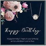 Grace of Pearl regalo di compleanno per donne, biglietto di compleanno, regalo per donna, regalo di compleanno per lei, idea