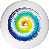 New Games - Frisbeesport Euro Disco Ultimate Frisbee 175g Rainbow Competizione Duro Disco con Stabile Aereo Bahn Circa…
