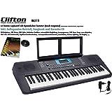 Clifton M211K Keyboard, USB, MIDI, 61 anschlagdynamische Tasten, Netzteil, Pitchbend-Rad