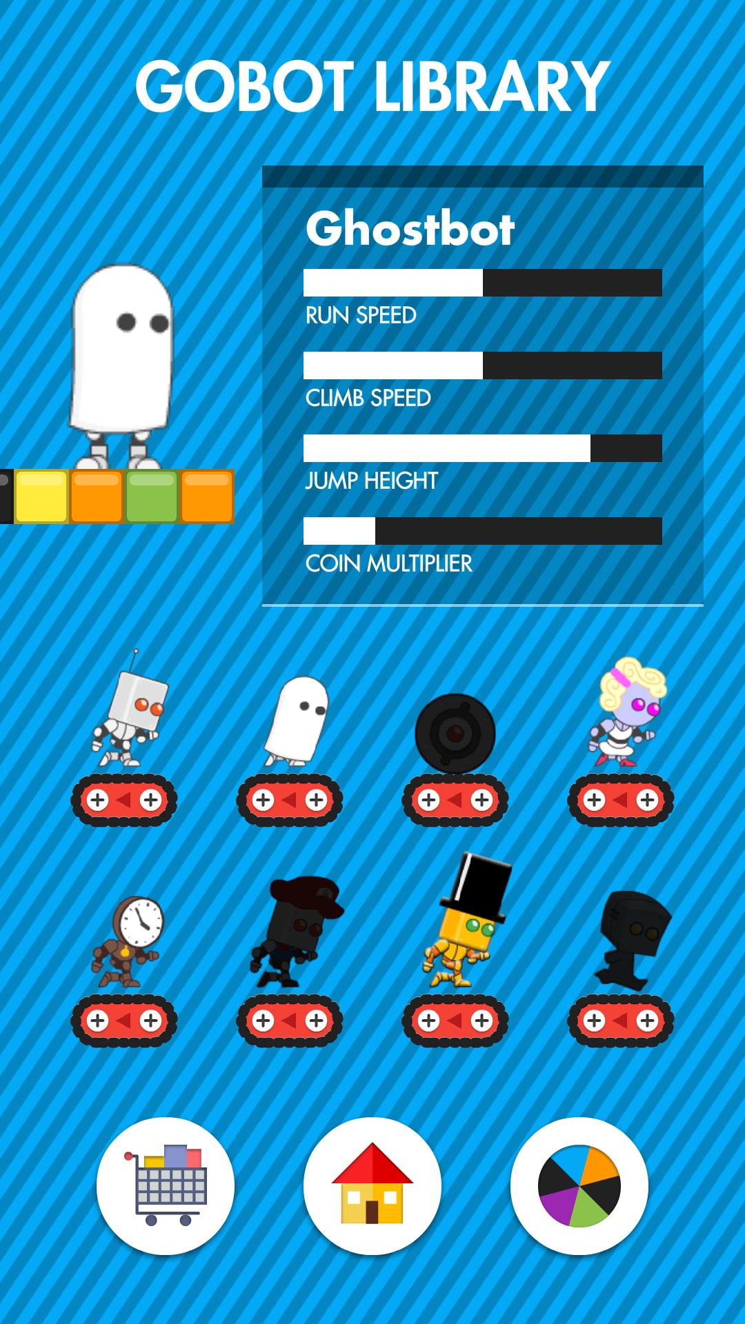 Gobot Run Screenshot