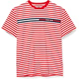 Tommy Jeans Men's TJM Branded Stripe Tee Shirt