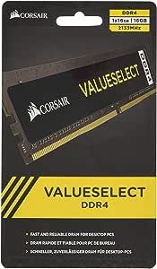 Corsair Memoria 16 GB (1 x 16 GB) DDR4 2133 MHz CL15, Nero