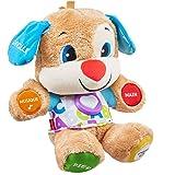 Fisher-Price Puppy Eveil Progressif jouet bébé, peluche interactive, plus de 75 chansons et 3 niveaux d'apprentissage, versio