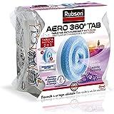Rubson Navulverpakking voor luchtontvochtiger Aero 360, lila, lavendelgeur, 450 g