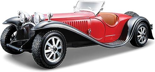 Bburago 1:24 Bugatti Type 55, Red