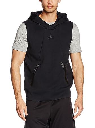 jordan vest hoodie