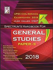 Spectrum Handbook for General Studies Paper II