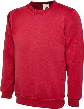 UC201 - Red - XL - 350GSM Premium Sweatshirt