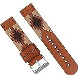 Barton Gaucho - Cinturino in pelle a sgancio rapido, colore e larghezza, 18 mm, 20 mm, 22 mm