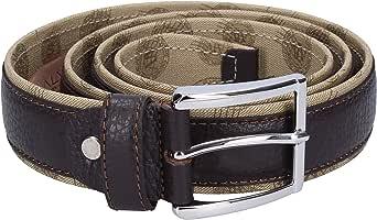 ALVIERO MARTINI Cintura 100% pelle ALV Unisex moro Belt Unisex dark brown(110)