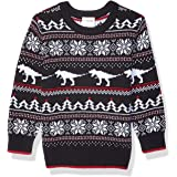 Marca Amazon - Spotted Zebra Pullover Crew Sweaters Niños