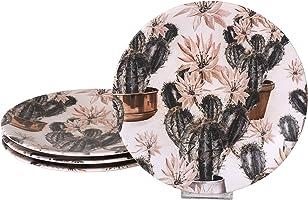Keramika Kera Art Servis Tabağı, 25 cm, 6 Adet
