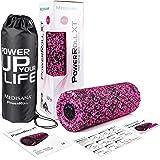 Medisana PowerRoll XT 99078, Massagerolle mit Tiefenvibration und 8 Intensitätsstufen fürs Faszientraining, inkl. Trainingsplan