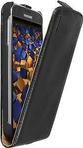 Mumbi Echt Leder Flip Case Kompatibel Mit Samsung Galaxy S5