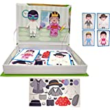 Popsugar Dress Up Magnetic Puzzles with 59 Magnet Meshes for Kids   Educational, Creativity, Multiclolor