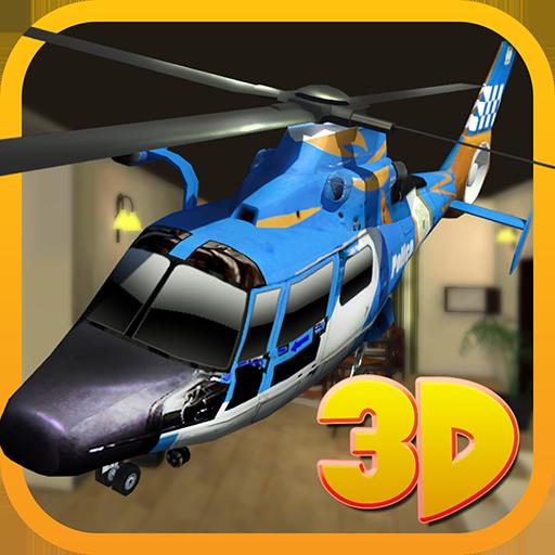 Helicóptero Absoluto simulador de avión RC Simulación de vuelo: Drone Flying y juego de estacionamiento 2018 gratis para niños