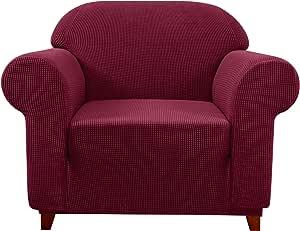 Subrtex Housse de fauteuil Relax /élastique Protection compl/ète pour fauteuil inclinable