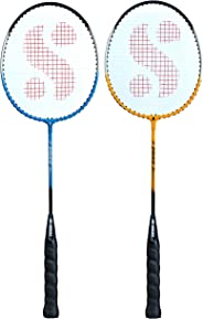 Silver's SIL-Drive-Combo-4 Aluminum Badminton Racquet, Pack of 2
