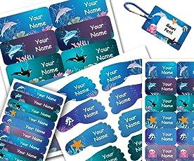 School Kids Label Starter Pack - Sea Design