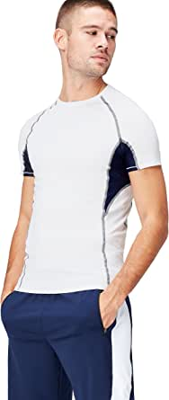 Activewear Men's Sports Top with Raglan Sleeve and Crew Neck
