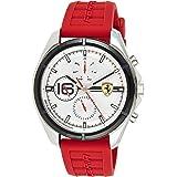 Scuderia Ferrari Men's Analogue Quartz Watch with Silicone Strap 0830783