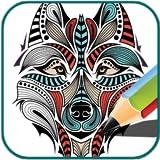 Livre de coloriage (Wolf)...