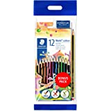 Staedtler Noris 61 Set6 (12 Pencil Colors, Hb Pencil, Eraser)