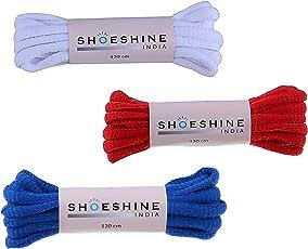 Shoeshine India sports shoe laces oval shoelaces 120cm long Unisex shoelaces