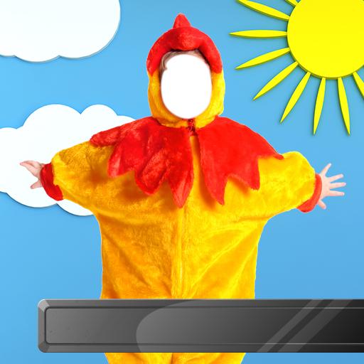 Kinderkostüm Fotomontage - Kostüm Anzüge Ideen
