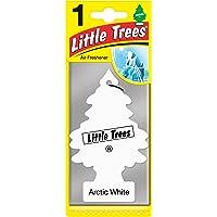 Air Freshener - LITTLE TREES Tree - Arctic White Fragrance MTR0061 - for Car Home - 1 Unit