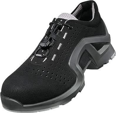 Uvex Scarpe Antinfortunistiche Bassa 1 x-tended Support S1 SRC | Sneaker da Lavoro con proprietà Antiscivolo | Soula Resistente a Olio e Benzina | Puntale Protettivo Metal-Free