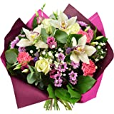 Sara,Fresh Flowers-Next Day Free UK Delivery -Sara Bouquet is a Beautiful Hand Tied for All Occasion.Birthday- Thank You- Con