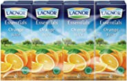 Lacnor Essentials Orange Juice - 180 ml x 8