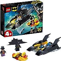 LEGO Super Heroes DC Batman All'inseguimento del Pinguino con la Bat-barca, Imbarcazione Giocattolo per Bambini di 4…