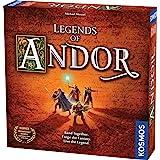 Thames & Kosmos - Legends of Andor: Basspelet|kooperativ strategispel | 2-4 spelare | Ålder 10+