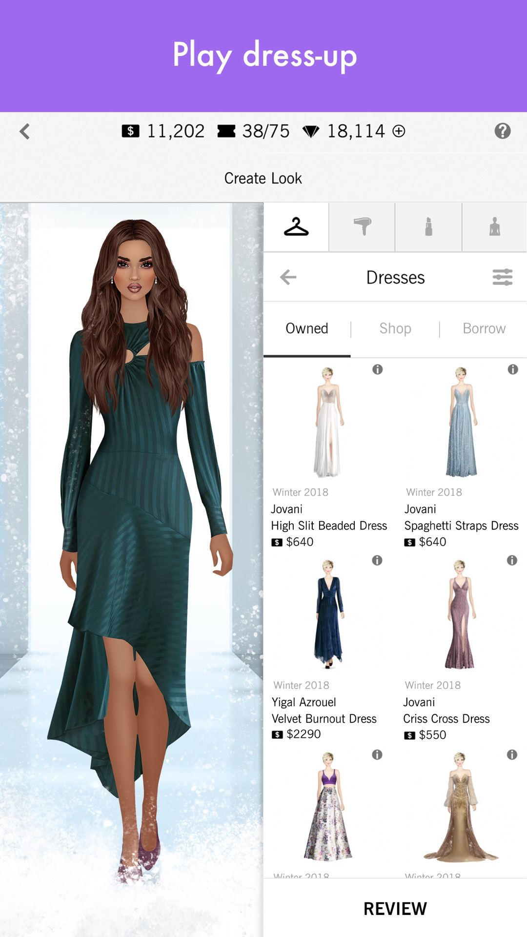 Covet Fashion Dress Up Game Amazoncouk Appstore For Android