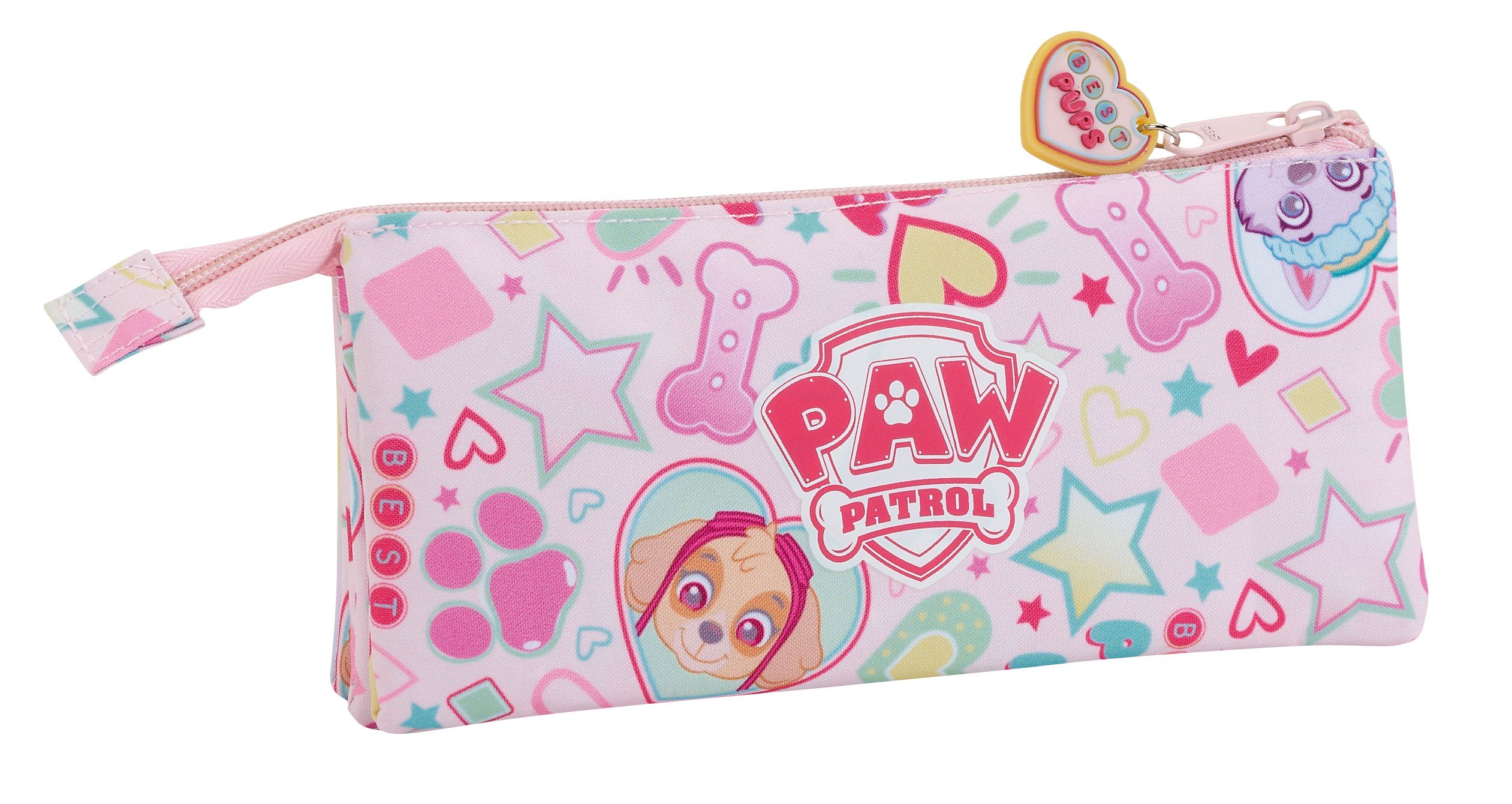 Paw Patrol Skye Friends – Estuche portatodo triple (Safta 811787744)