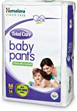 Himalaya Total Care Medium Size Baby Pants Diapers (54 Count)
