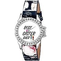 Lorenz Rakhi Gift for Sister Raksha Bandhan Return Gifts for Sister   Wrist Watch for Sisters, Gift for Rakhi, Sister raksha bandhan Gifts   Best Sister Ever Watch   Watch for Girls