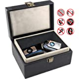 Car Key Signal Blocking Box,Large Faraday Box 17 x 12 x 9cm for Car Keys Phones RFID Blocker Case Car Key Safe Box,Fob…