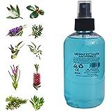 SPRAY ANTIVIRICO DESINFECTANTE 250ML 100% Natural 10 Aceites Esenciales. Limpiador Hidroalcohólico, piel, mascarillas, textil
