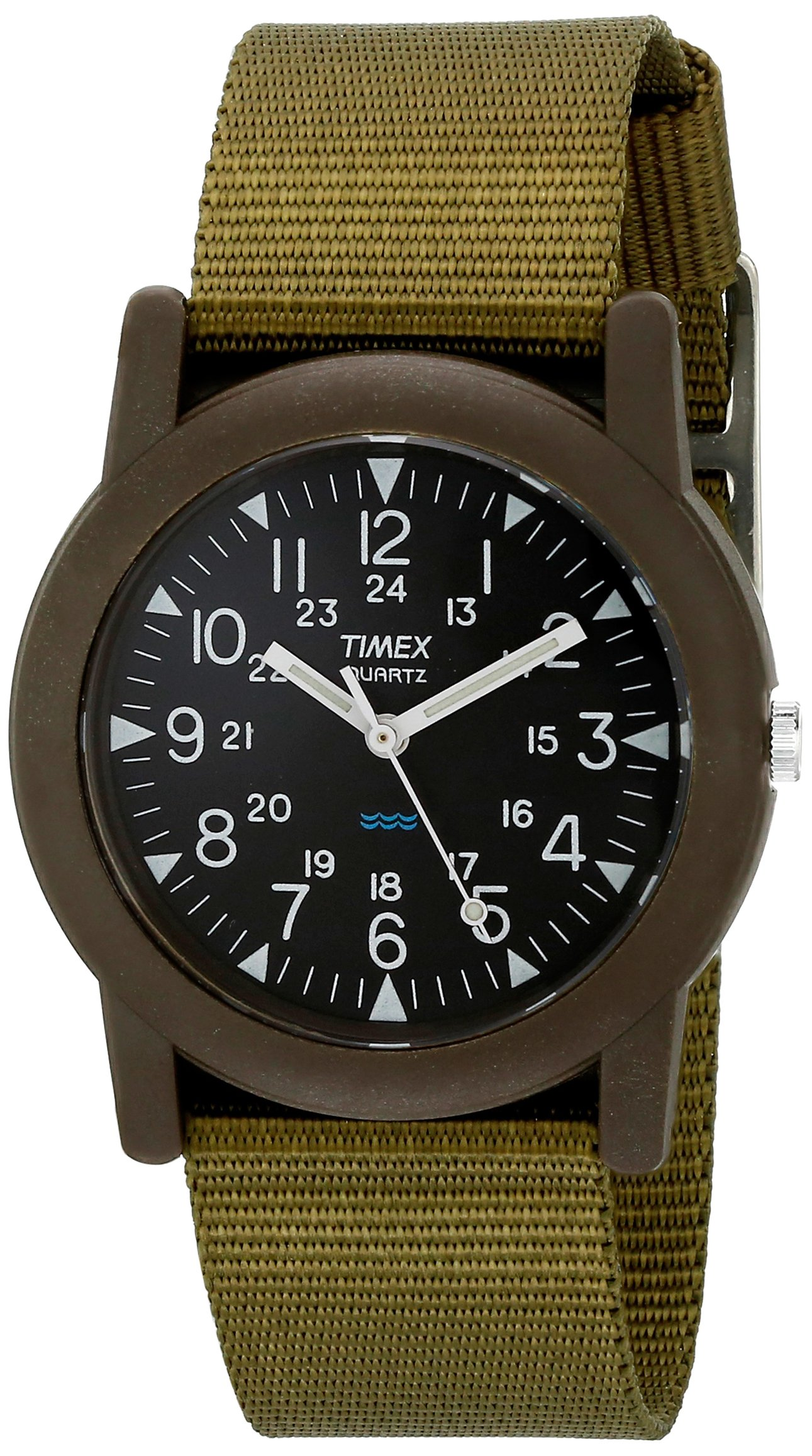 Timex Unisex Quartz Camper Watch with Analogue Digital Display and Nylon Strap