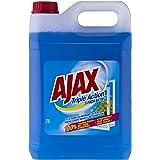 Ajax Bidon de 5 l pour un remplissage facile du flacon pulvérisateur, 100 % sans traces.