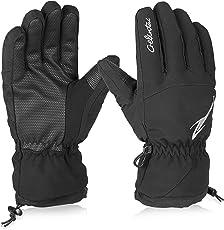HiCool Skihandschuhe Erwachsene Wasserdichte Winterhandschuhe Schnee Handschuhe Outdoor Handschuhe Sport Handschuhe für Damen und Herren